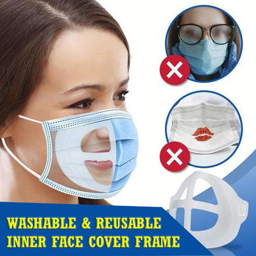 Washable & Reusable Inner Face Cover Frame