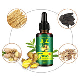 7 Days Ginger Growth Serum Oil