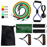 Full Body Workout Resistance bands Set