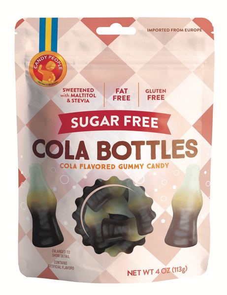 Sugar-Free Cola Bottles