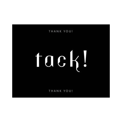 Note Card - Thank You