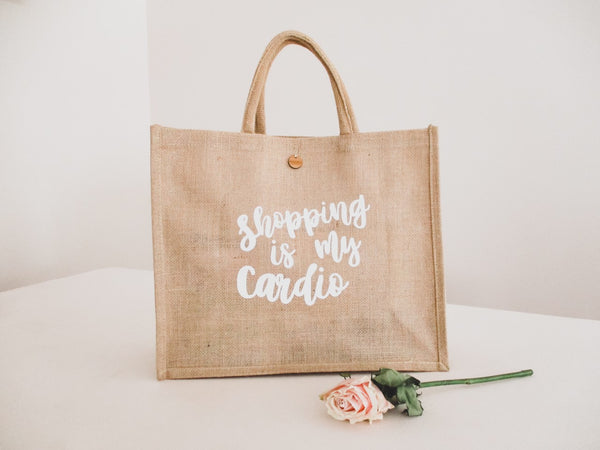 'Shopping is my Cardio' Tote Bag