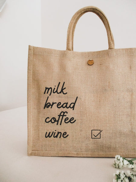 Grocery List Tote Bag