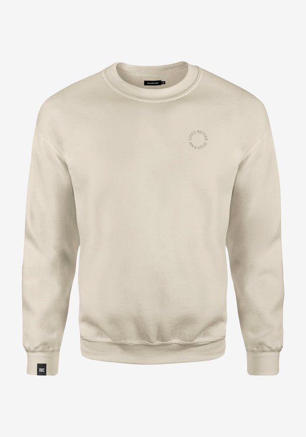 Everyday Crewneck LBOAV in Natural Raw V2