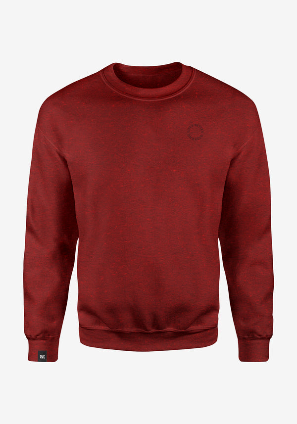 Everyday Crewneck Heather Neppy Bordeaux V2