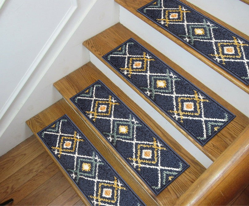 Indoor Carpet Stair Treads - The New Stair Runners!