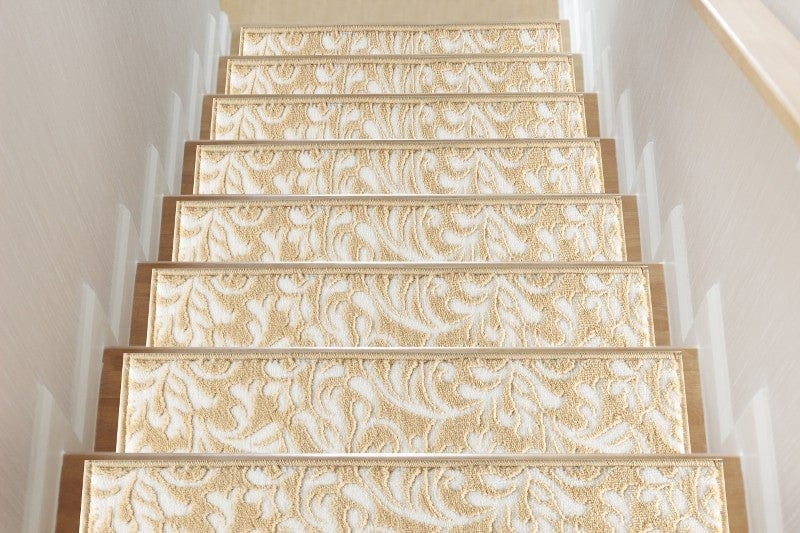 Primrose Beige Soft Stair Treads, Pack of 13 with Double Sided Tape