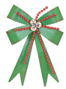 PEARL BELL BOW HANGER METAL - GREEN