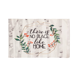 """THERE IS NO PLACE LIKE HOME"" SCATTER RUG"