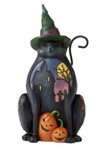 HALLOWEEN CAT PINT SIZED