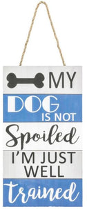 SPOILED PET HANGER - DOG
