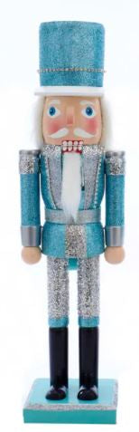 BLUE & SILVER NUTCRACKER - BLUE HAT