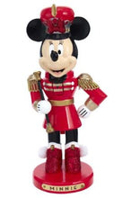 Load image into Gallery viewer, MINNIE MOUSE MARCHING BAND NUTCRACKER