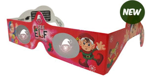 HOLIDAY SPECS 3D PAPER GLASSES