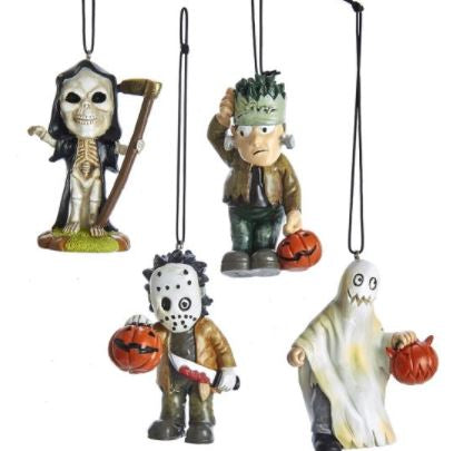 MINI HALLOWEEN ORNAMENT - SKELETON