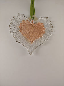 COTTONWOOD DOUBLE LEAF SILVER & ROSE GOLD