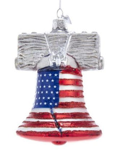 NOBLE GEM LIBERTY BELL ORNAMENT