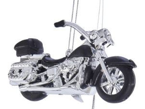 MOTORCYCLE ORNAMENT - BLACK
