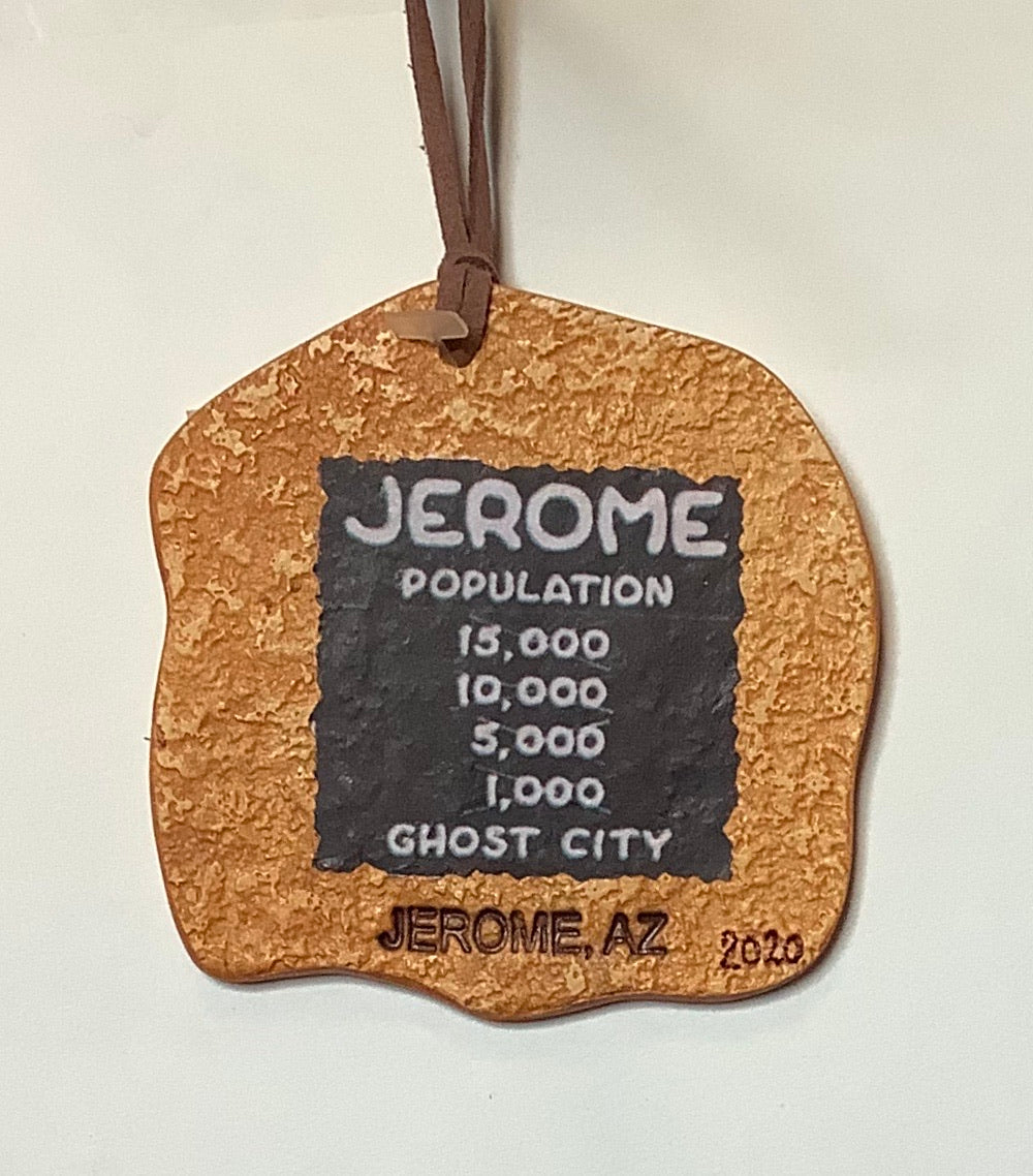 CLAY JEROME POPULATION ORNAMENT