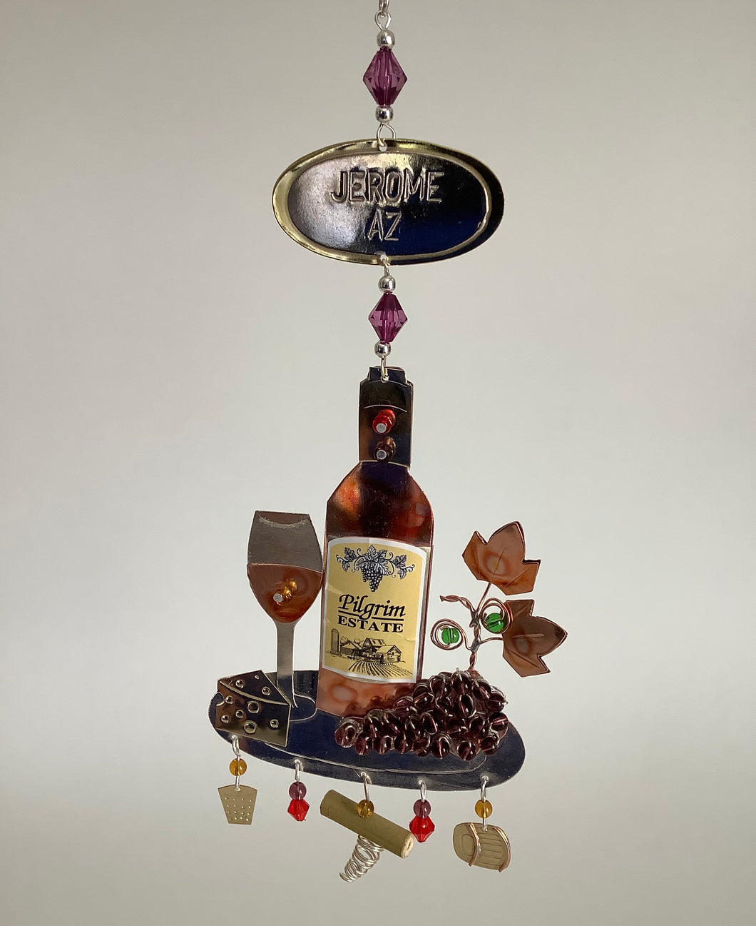 WINE AND DINE ORNAMENT