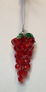 RED GRAPES ORNAMENT