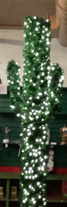 "CACTUS TREE LIGHTED - 5' 5"" CLEAR LIGHTS"