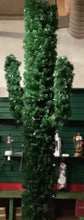 "Load image into Gallery viewer, CACTUS TREE LIGHTED - 5' 5"" CLEAR LIGHTS"