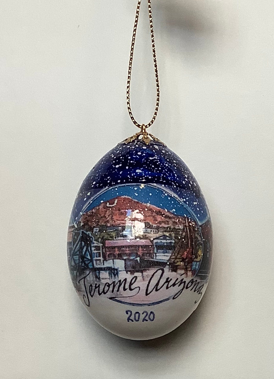 JEROME EGG ORNAMENT