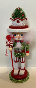 NUTCRACKER TREE TOPPED HAT 10""