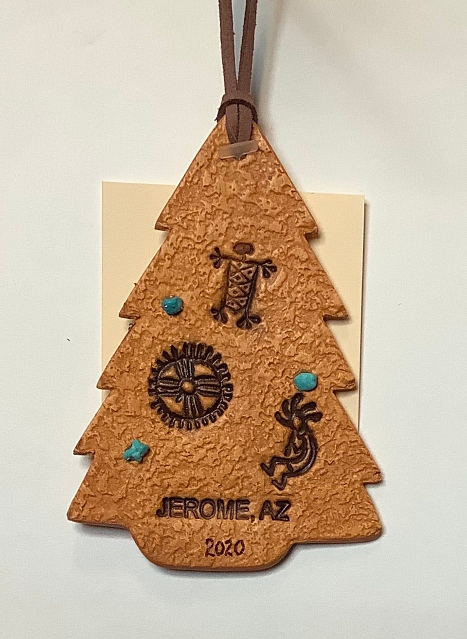 CLAY ARIZONA CHRISTMAS TREE ORNAMENT
