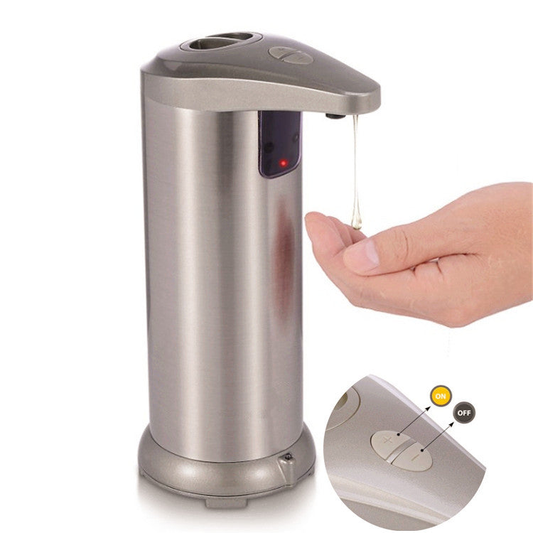 Stainless Steel Touchless Automatic Soap Sanitizer Dispenser