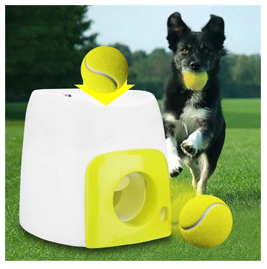 Share to: Pet Dog Launcher Tennis Ball Toys Fetch Thrower Hyper Game Outdoor Toys