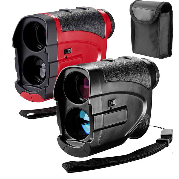 BestGolf™ Golf Rangefinder Laser 6X25 1000 Yards w/ Bag - Black