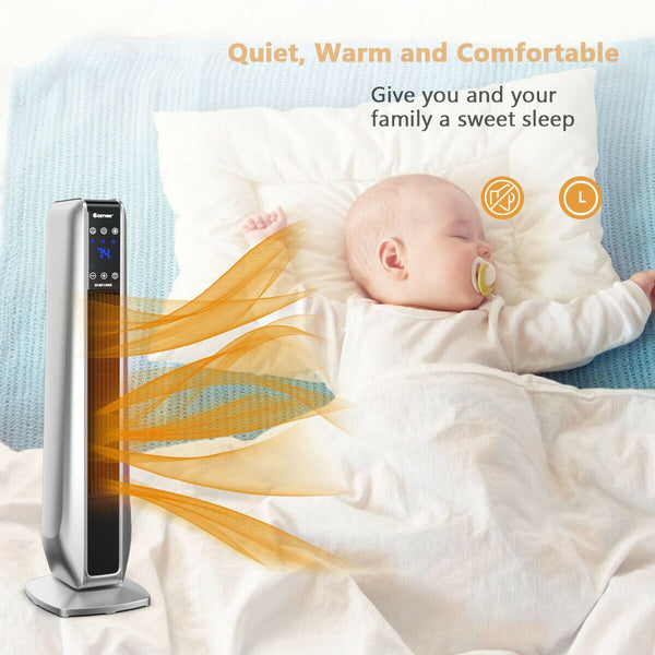 BestHeat™ Portable Oscillating Space Heater (Video Demo) Electric with Remote Control 1500W