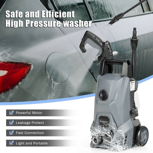BestWash™ High Pressure Washer Power Washer with All-in-One Nozzle