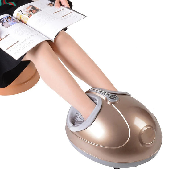 BestSpa™ Best Foot Massager Reflexology with Heat White or Gold