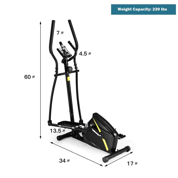 BestX™ Compact Elliptical Trainer Machine Home Exercise