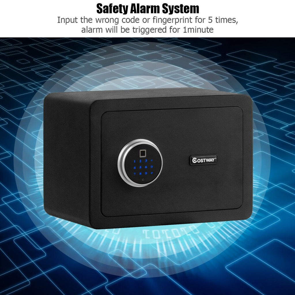 BestSafe™ Fingerprint Safe Box Lock Security Box with LED Light