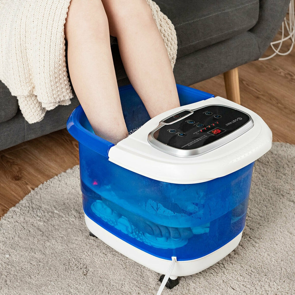 BestSpa™ Deluxe Portable Foot Spa Soaker Massager Motorized