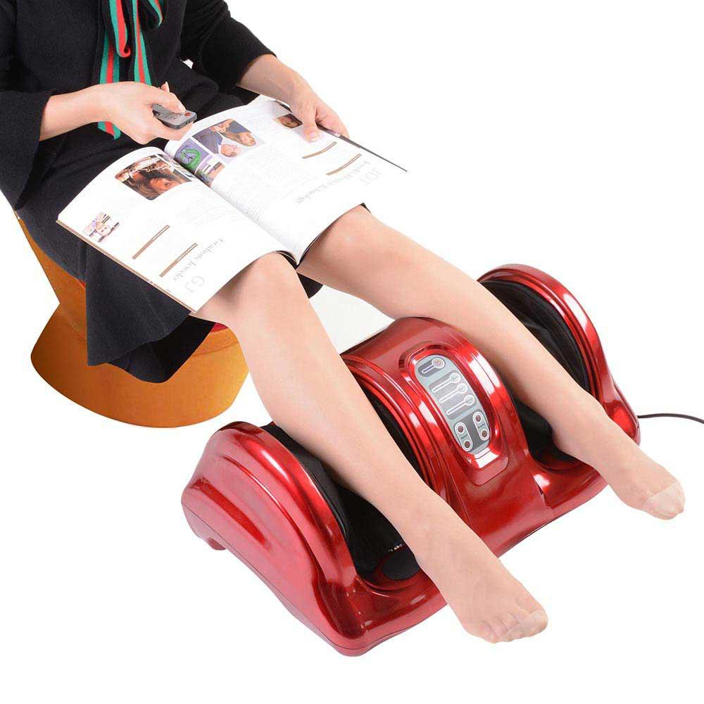 BestSpa™ Foot Leg Massager Best Kneading Rolling with Remote Red or Black
