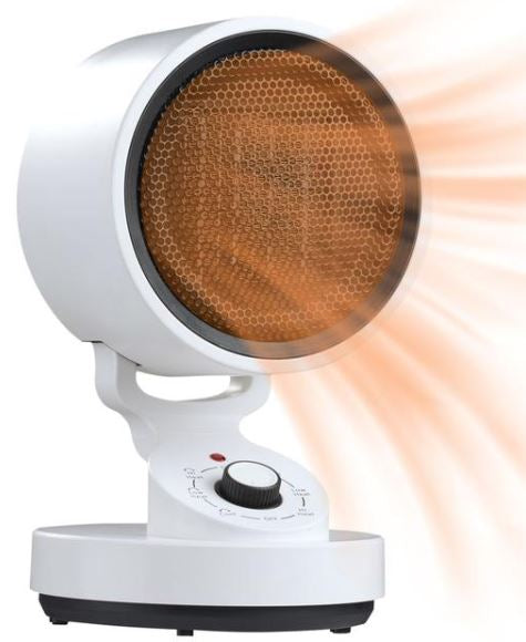 BestHeat™ Portable Electric (Video Demo) Space Heater Oscillating 1500W