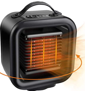 BestHeat™ Portable Heater Best Space Heater (Video Demo) Mini & Cooling Fan 1000w