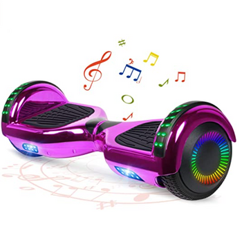 BestHover™ Hoverboard Bluetooth Speakers Kids Adult Gift in Purple