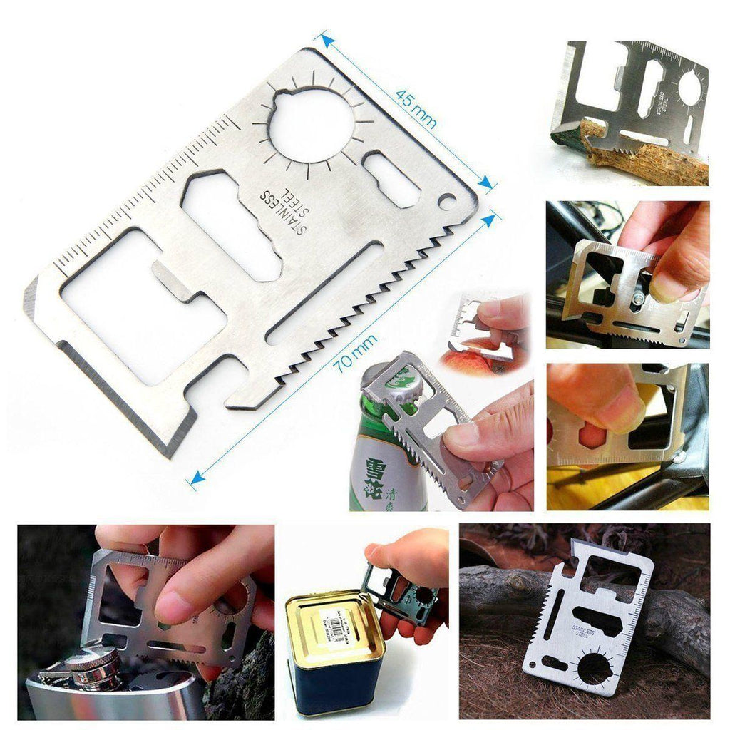 BestSurvival™ Survival Kit 6 in 1 Mini First Aid Hiking Camping Rescue Gear Emergency
