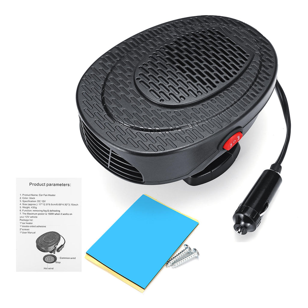 BestHeat™ Car Truck Windshield Heater Defroster 2 in 1 Demister 150W