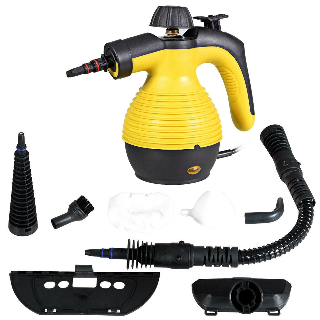 BestSteam™ Portable Steam Cleaner (Video Demo) Handheld w/ Attachments Disinfection and Sterilization