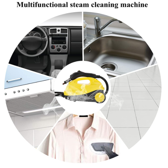 BestSteam™ Steam Floor Cleaner (Video Demo) Steamer Kit Heavy Duty Disinfection and Sterilization