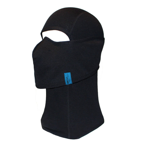 Integrated Mouldable Nose Piece Anti-Fog Merino Wool Blend Balaclava