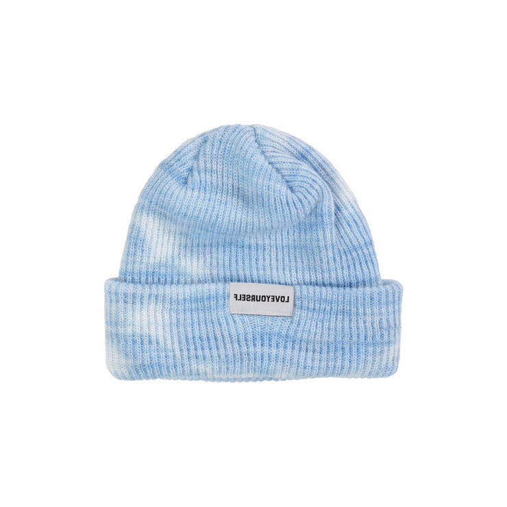 LY Core Collection Beanie (Blue Tie Dye)