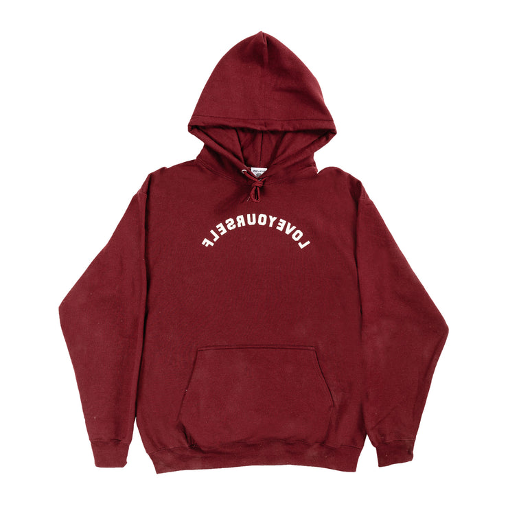 LY Core Collection Hoodie (Maroon & Beige)